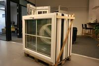 Pall med 7 fönster i samma mått B:1100x H:1200